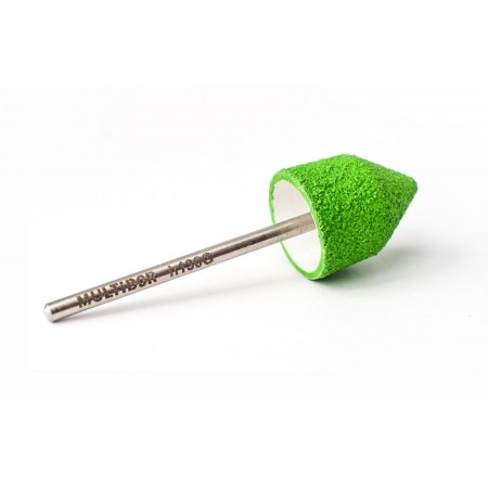 Reusable composite pedicure cap GREEN Medium h130G