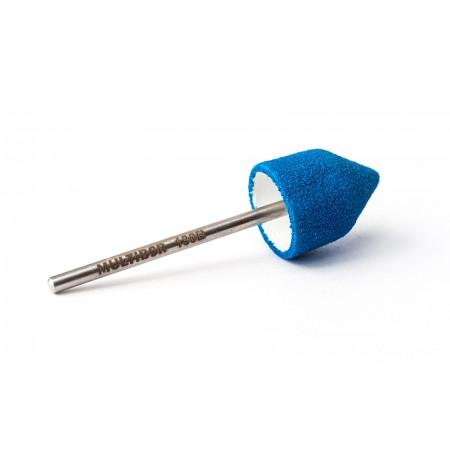 Reusable composite pedicure cap BLUE Fine h130B