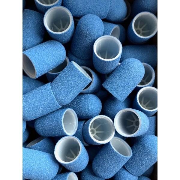 Replacement pedicure cap BLUE Fine C10B ( 1pc)