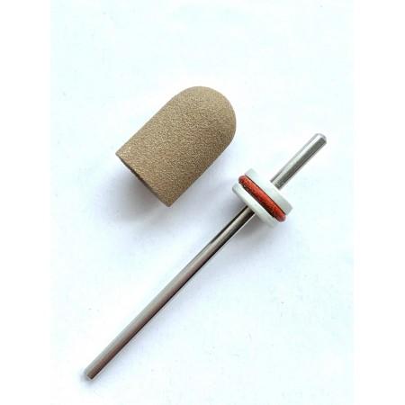 Pedicure bit with a removable composite cap Super Fine C10S