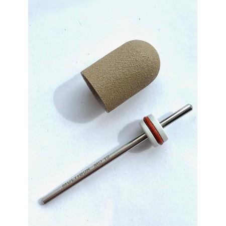Pedicure bit with a removable composite cap Super Fine C13S